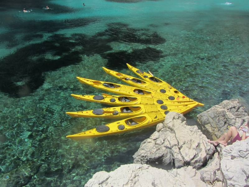 Location de kayak de mer à Marseille avec Blue Kayak